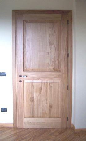 Porte interne in rovere - Porte per interni in legno - Lavori Svolti