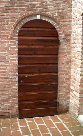 Portoncini in pino porte e portoncini per esterno lavori svolti - Portoncini da esterno prezzi ...