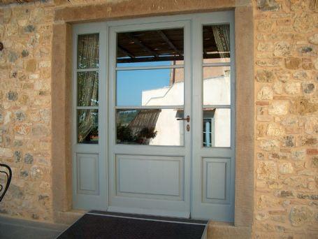 Vetrata ingresso laccata porte e portoncini per esterno - Porte per esterno ...